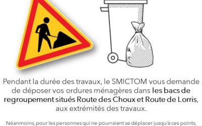 Travaux – Route des Choux – Gien